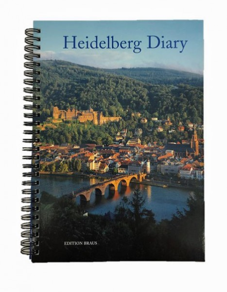 Heidelberg Diary - Calendar for one year with beautiful Heidelberg pictures - Englisch / German