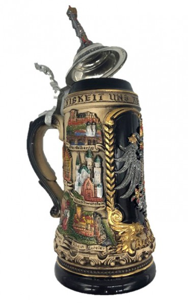 Limited Edition - Beerstein with Germany motifs - Made in Germany