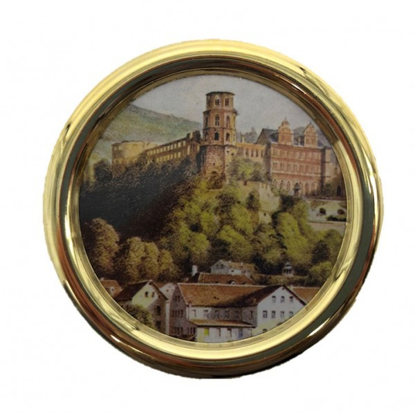 "Music box ""I lost my heart in Heidelberg"" - melody"" with castle motive - Made in Germany"