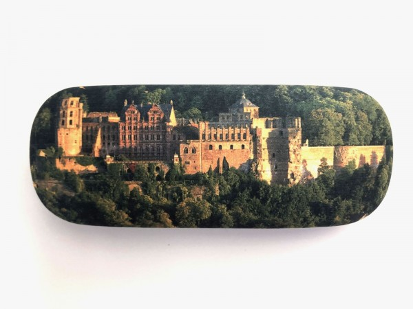 Hardshell spectacle case with picture of the Heidelberg Castle