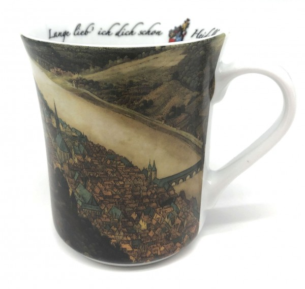 "Reutter Porcelain cup with ""Hortus Palatinus"" visualization"
