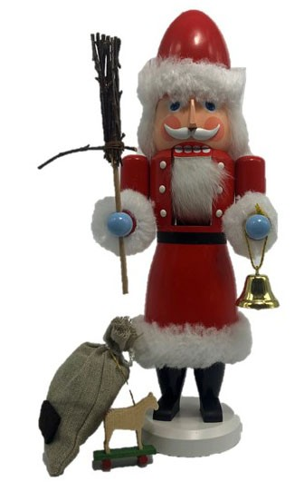 Nutcracker Santa Claus - Made in Germany - Handwork from the Erzgebirge