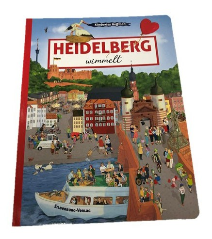 Discover Heidelberg with Perkeo and this hidden object book